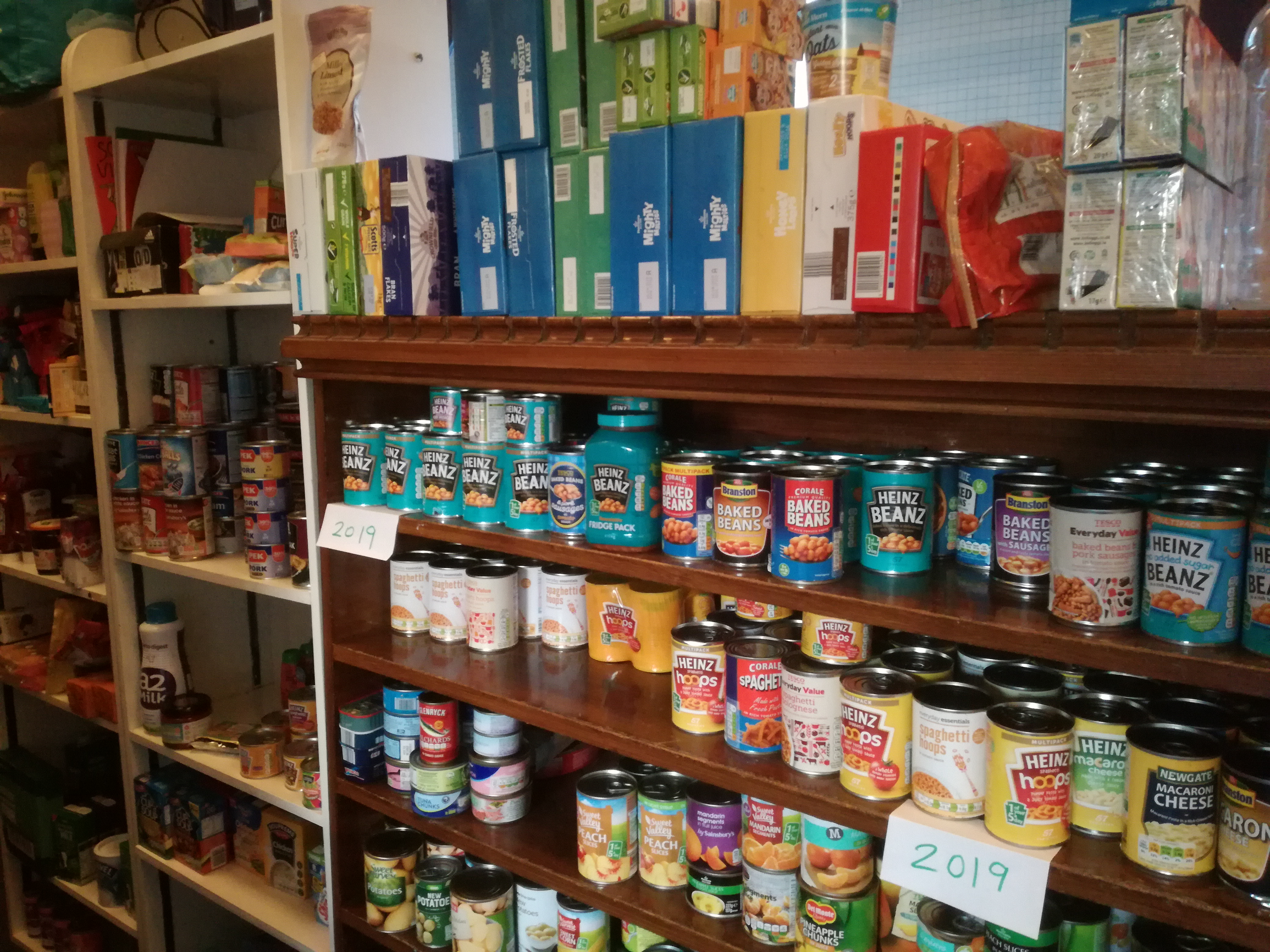 Food Bank St James Church Carlisle