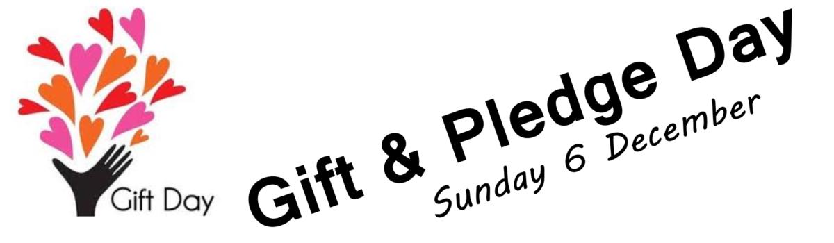 Gift & Pledge Day